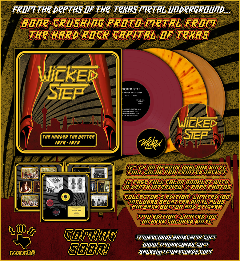 "Wicked Step - Demos 1976-1979 - 12"" colored vinyl!"