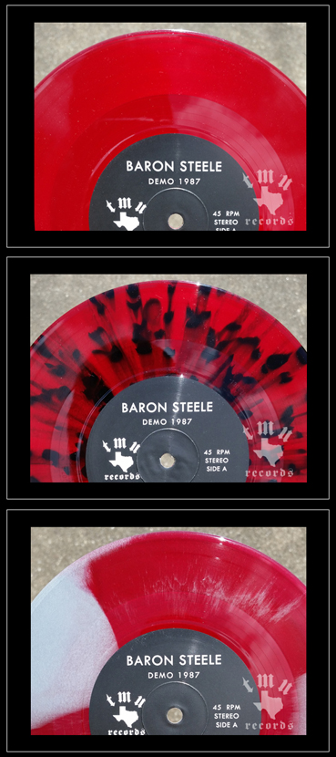 Baron Steele - Vinyl Colors